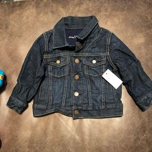 Gap jean jacket, NWT, size 12-18 months, lined